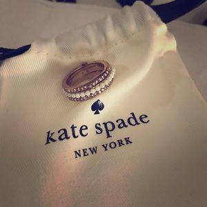 Kate Spade Three Layer Ring